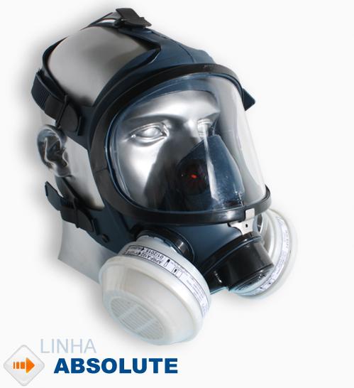 MÁSCARA FACIAL FULL FACE ABSOLUTE AIR SAFETY
